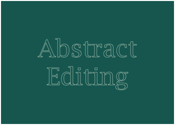 abstract editing