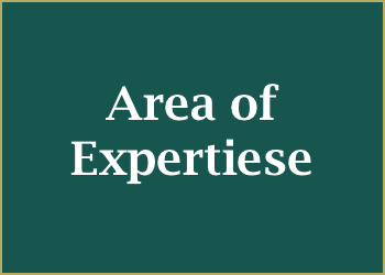 area of expertise